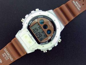 Men's Diamond shock by King Master 12 Diamond watch