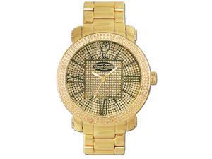 New Grand Master Round 12 Diamonds 50MM YG Watch