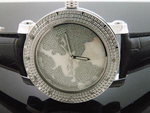New King Master Round 12 Diamond 50MM Watch