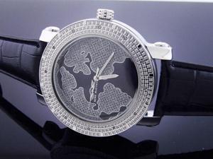 New King Master Round 12 Diamond 50MM Watch