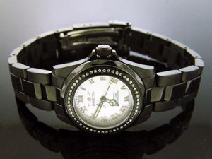 Invicta Women 0.37CT Diamond Swiss Quartz SS Watch