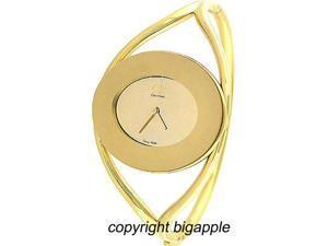 Calvin Klein Gold Tone Stainless Steel Ladies Watch K1A23909
