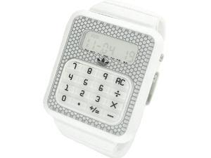 Adidas Originals Digital White Dial Unisex Watch #ADH4057