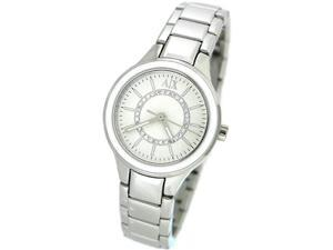 ARMANI EXCHANGE SILVER BRACELET 50M LADIES WATCH