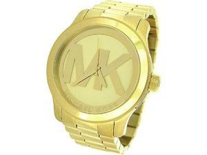 Michael Kors Quartz Gold-tone Bracelet Champagne Dial Ladies Watch MK5473 MK5473