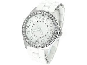 MARC BY MARC JACOBS CRYSTAL SILICONE LADIES WATCH