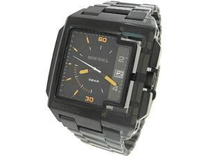 DIESEL BLACK STAINLESS STEEL 50M MENS WATCH