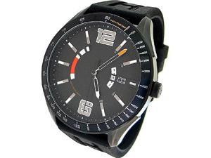 Tommy Hilfiger Silicone Black Dial Men's watch #1790797