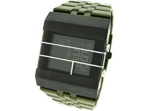 DIESEL DIGITAL ALUMINUM 50M MENS WATCH