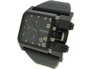 DIESEL CHRONOGRAPH LEATHER 50M MENS WATCH