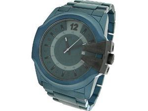 DIESEL DATE BLUE CERAMIC 100M MENS WATCH
