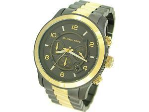 MICHAEL KORS CHRONOGRAPH TWO TONE MENS WATCH