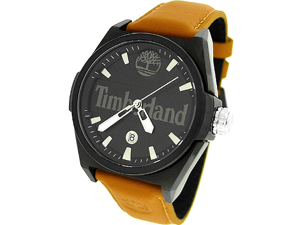 TIMBERLAND DATE LEATHER 100M MENS WATCH