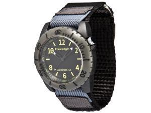 Freestyle Rage 2.0 Velcro Strap Black Dial Men's watch #FS84962