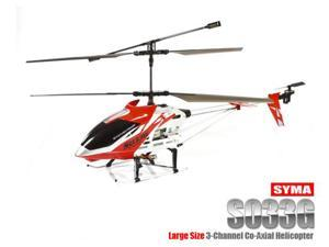 Genuine Syma S033G 3CH Coaxial Large Size RC Helicopter RTF w/ Gyro ( Assorted Colors )