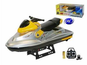 "Double Horse 22"" RC Remote Control Jet Ski Seadoo Waverunner RC Boat MB03 Yellow"
