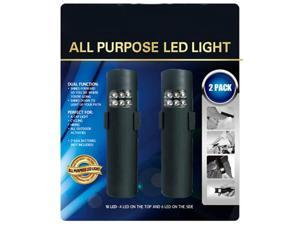 All Purpose Dual Function 10 LED Handy Clip-On Light (2 Pack) from Thinktank Technology