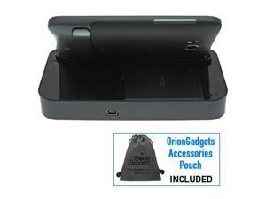 HTC Thunderbolt Desktop Sync & Charge Cradle Docking Station w/ 2nd Battery Slot (Black)