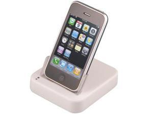 Apple iPhone 3GS Cradle Docking Station (USB Sync & Charge) (White)
