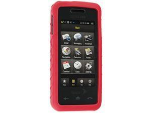 Samsung Instinct M800 Silicone Skin Case (Red) - OEM