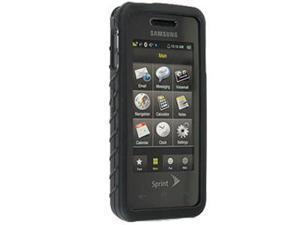 Samsung Instinct M800 Silicone Skin Case (Black) - OEM