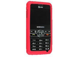 Samsung Access Silicone Skin Case (Red)