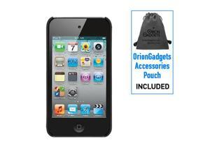Apple iPod Touch 4G Rubberized Proguard Mesh Case (Black)