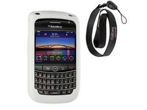 BlackBerry Bold 9650 Silicone Skin Case (White)
