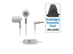 Blackberry Bold 9930 3.5mm In-Ear Stereo Hands-Free Headset (Jewel Design) (White)