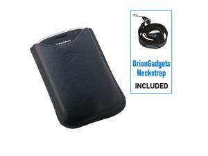 BlackBerry Bold 9000 Leather Vertical Pocket Case (OEM) (Blue)