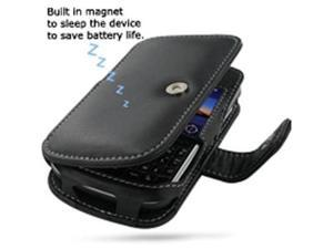 BlackBerry Bold 9650 Leather Book Case (Black)