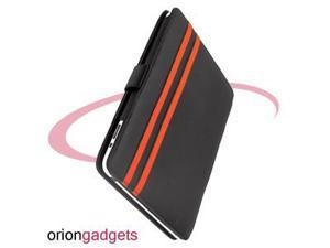 Apple iPad 1 Leather Book Case (Black)