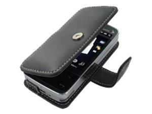 Sprint HTC Touch Pro Leather Book Case (Black)