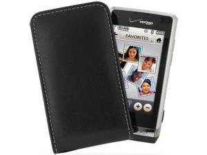 LG Dare Leather Vertical Pouch Type Case (Black)