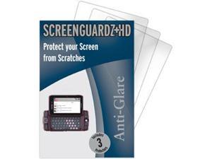 T-Mobile Sidekick LX 2009 ScreenGuardz HD (Hard) Anti-Glare Screen Protectors (Pack of 2)
