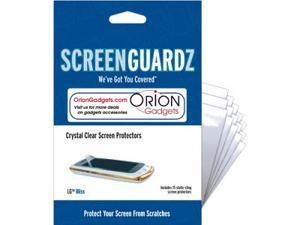 LG Bliss UX700 ScreenGuardz Ultra-Slim Screen Protectors (Pack of 15)