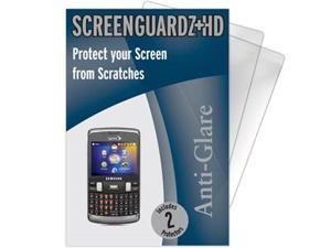Samsung Intrepid SPH-i350 ScreenGuardz HD (Hard) Anti-Glare Screen Protectors (Pack of 2)