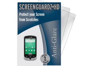 Samsung Moment ScreenGuardz HD (Hard) Anti-Glare Screen Protectors (Pack of 2)