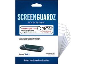 Samsung i920 Omnia II ScreenGuardz Ultra-Slim Screen Protectors (Pack of 15)