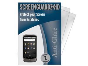 Google Nexus One ScreenGuardz HD (Hard) Anti-Glare Screen Protectors (Pack of 2)