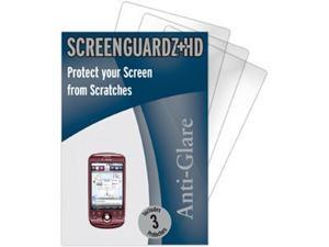T-Mobile MyTouch 3G (Fender Edition) ScreenGuardz HD (Hard) Anti-Glare Screen Protectors (Pack of 3)