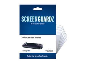 Samsung Strive A687 ScreenGuardz Ultra-Slim Screen Protectors (Pack of 15)
