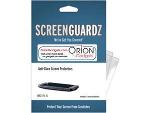 HTC EVO 4G ScreenGuardz HD (Hard) Anti-Glare Screen Protectors (Pack of 2)