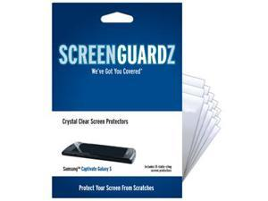 Samsung Captivate ScreenGuardz Ultra-Slim Screen Protectors (Pack of 15)