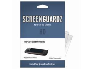 HTC Desire ScreenGuardz HD (Hard) Anti-Glare Screen Protectors (Pack of 2)