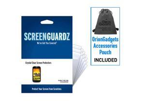 T-Mobile myTouch 4G ScreenGuardz Ultra-Slim Screen Protectors (Pack of 5)