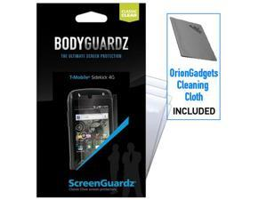 T-Mobile Sidekick 4G ScreenGuardz Classic Clear Screen Protectors (Pack of 5)