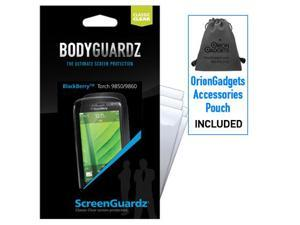 Blackberry Torch 9850 ScreenGuardz Classic Clear Screen Protectors (Pack of 5)