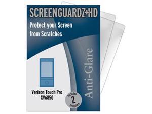 Verizon HTC Touch Pro ScreenGuardz HD (Hard) Anti-Glare Screen Protectors (Pack of 2)
