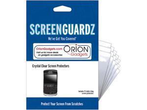 BlackBerry Curve 8530 ScreenGuardz Ultra-Slim Screen Protectors (Pack of 15)